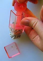 Rice cube press