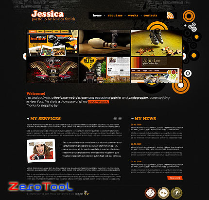 FlashMint 2724 Fancy design studio flash XML template