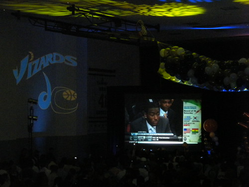 John Wall, NBA Draft, Washington Wizards