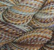 "7.2 oz 3 ply Hand Spun Aran Yarn Selah ""Crisp"" 100% Correidale Wool"