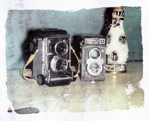 Mamiya c22 / Yashica Mat124 cameras
