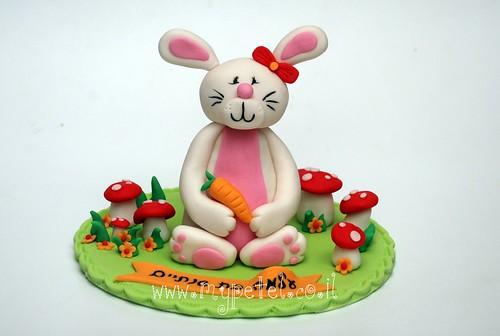 Little Bunny Cake Topper ~*~ עוגת ארנב
