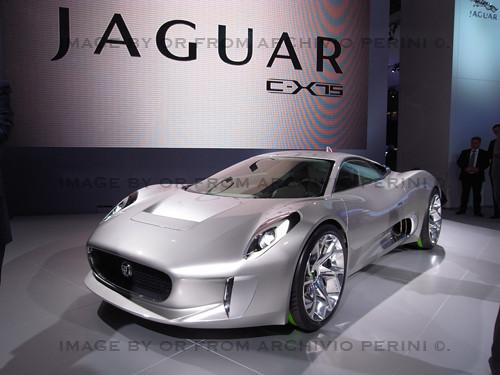 Jaguar EX 75  concept @ Paris 2010