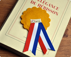 Award Bookmark French Cockade