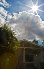 beams & dreams {Creative Tribe} home sweet home (Ar~Pic) Tags: california sun house sunshine canon live flare safe build homesweethome built dreamscometrue creativetribe beamsanddreams cross~beams sun~flare