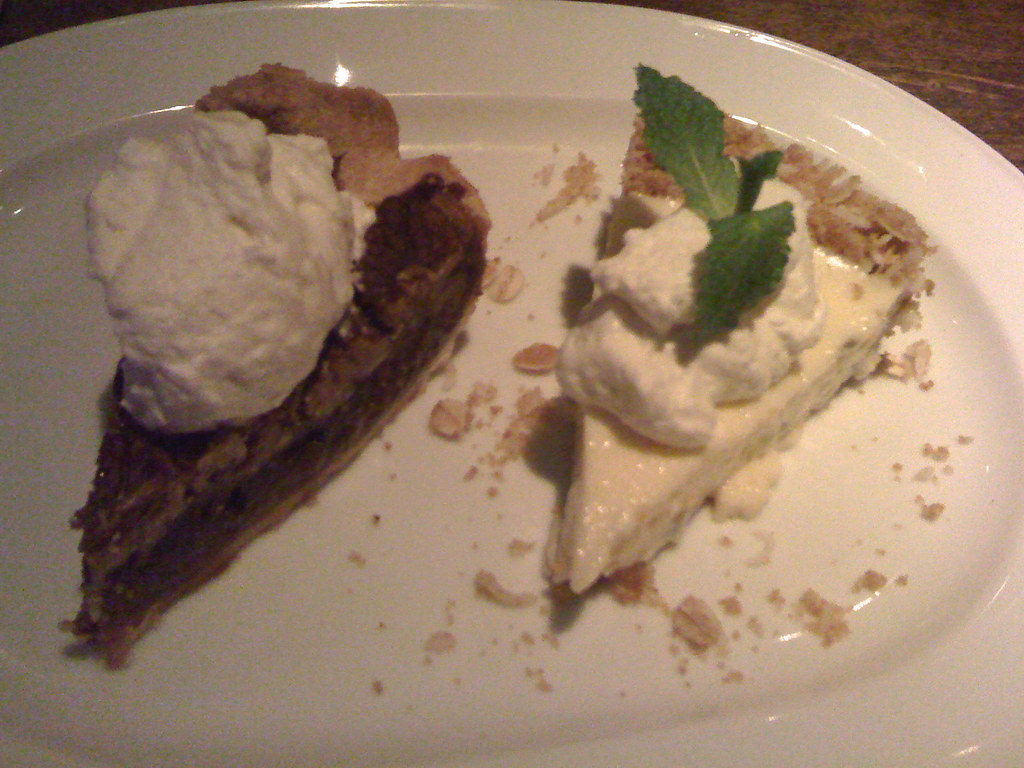 pie sampler at Brown's Social House