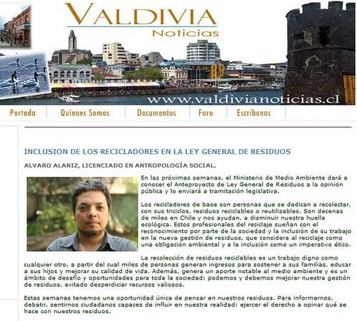 Clip Valdivia Noticias