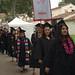 Students Walking Into Graduation Ceremony