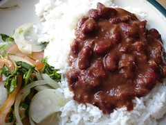 Beans Dinner (rovingI) Tags: food hot cooking dinner recipe indian tasty spicy