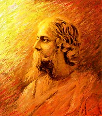 Rabindranath Tagore  : 150 Years (Shubnum Gill) Tags: portrait musician music india color colour art painting women asia poem drawing delhi indian painter poet writer potrait gill bengal bangladesh bangla newdelhi sangeet statesman shantiniketan tagore rabindranath rabindra rabindranathtagore thakur nobellaureate gitanjali educationist dramatist colorphotoaward shubnum freedomstruggle superbmasterpiece shubnumgill aguner parasmoni