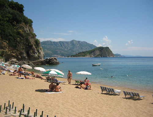 пляж, Будва, beach in Budva