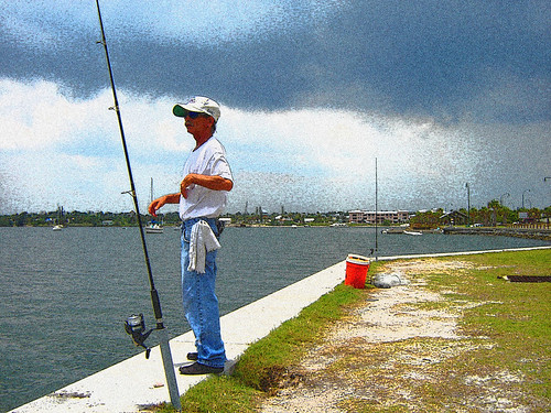 EMC2 fisherman