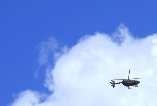 Ello ello ello - it's the police helicopter
