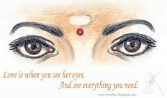 EYES (Neelan - God's self portrait) Tags: love look eyes romance iloveyou lover truelove mylover reallove mytruelove powerfull neelan my hereyes