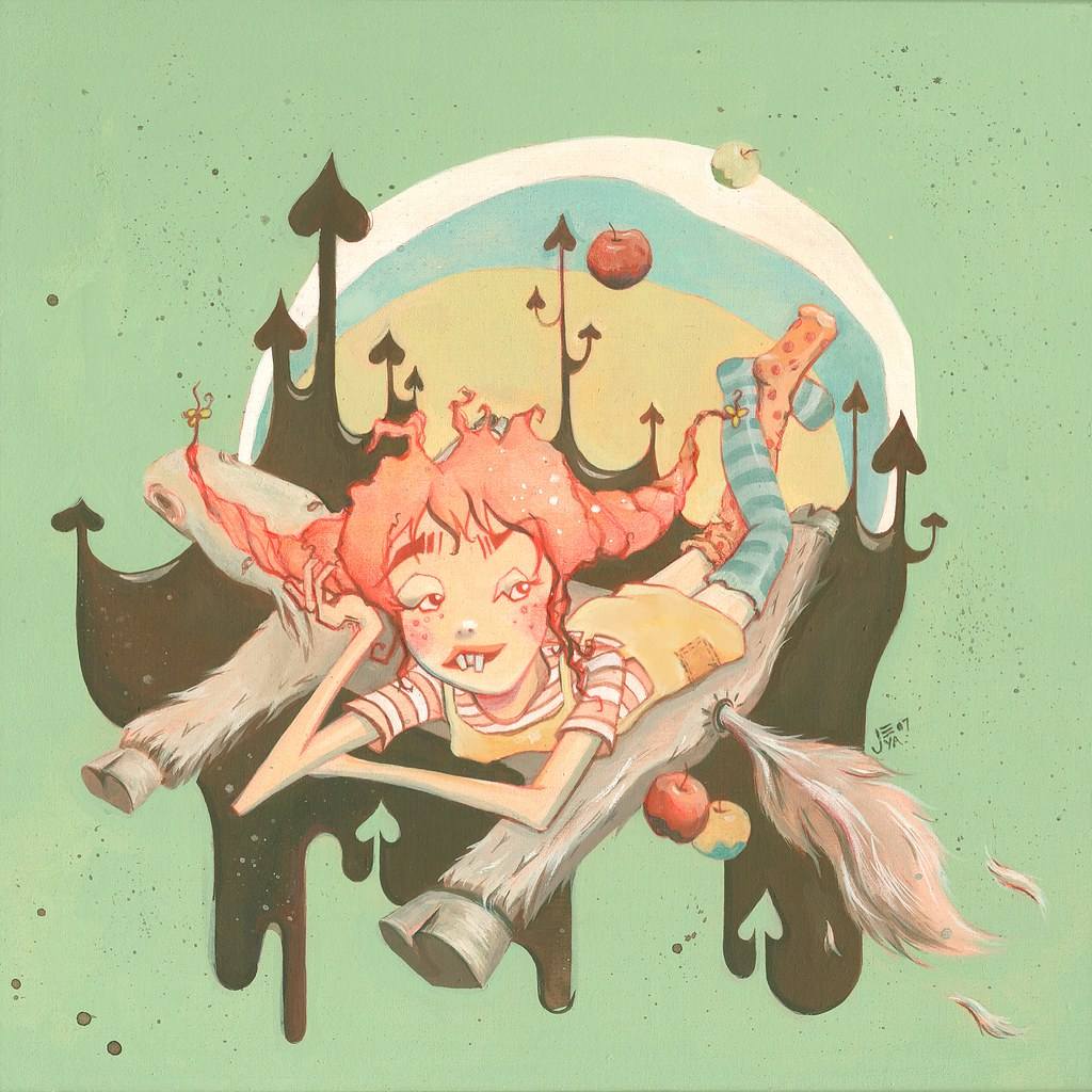 Jeya's Pippi Longstocking for Astrid Lindgren Exhibition
