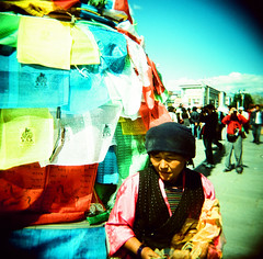 """Lhasa, Tibet • <a style=""""font-size:0.8em;"""" href=""""http://www.flickr.com/photos/16079690@N00/883608883/"""" target=""""_blank"""">View on Flickr</a>"""
