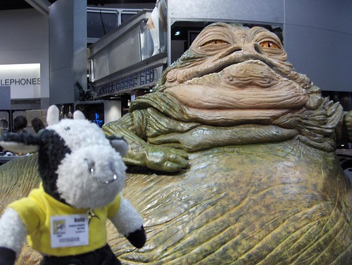 Jabba has tapped me to be his new dancer!