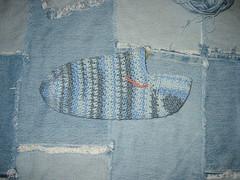Crochet Sock WIP