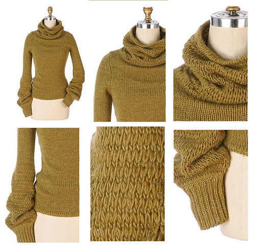 Anthropologie cowl