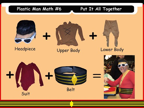 Plastic Man Math #6 - Put It All Together