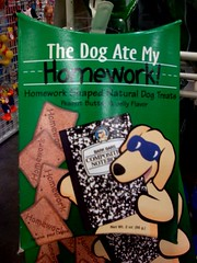 Dog ate my homework by Inju - used under Creative Commons licence
