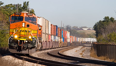 Too Close (MADYUSN1) Tags: railroad train rail security refinery bnsf intermodal burlingtonnorthernsantafe
