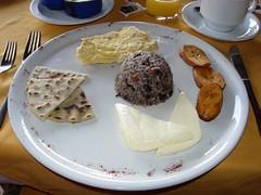 Guanacasteco breakfast