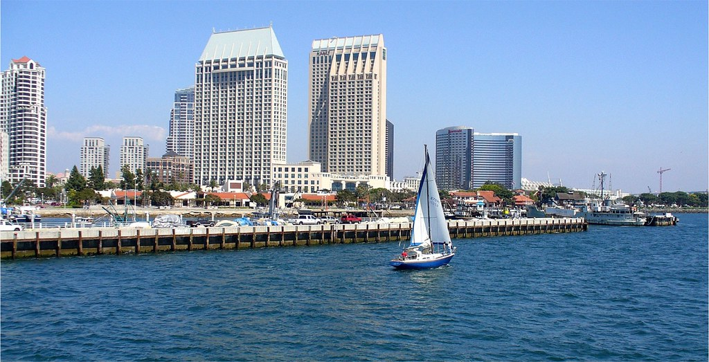 Leaving San Diego Harbor Aboard the Hornblower Harbor Cruise Ship