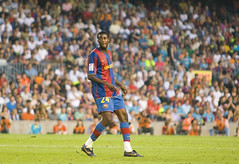FCBarcelona-Athletic Club - Jorn.01 2007-2008, Touré Yaya