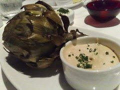 Whole Artichoke with Jalapeno Aoli
