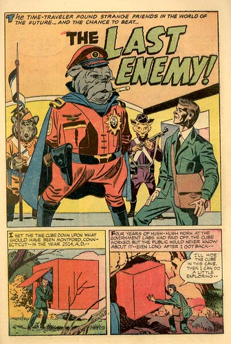 Jack Kirby's  proto-Kamandi post apocalyptic story The Last Enemy