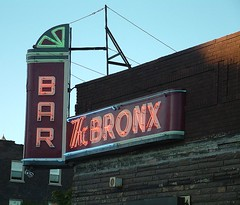 Bronx Bar in Detroit (DetroitDerek Photography ( ALL RIGHTS RESERVED )) Tags: red summer urban favorite usa haircut sign bar fun cool university neon fuji open hole drink michigan bronx ad detroit dive class september 2nd business alcohol finepix signage second local amateur globalvillage 2007 whitestripes waynestate jackwhite bronxbar aplusphoto aclassphoto flickrphotoaward excapture