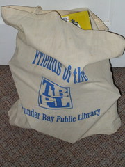 My library book bag