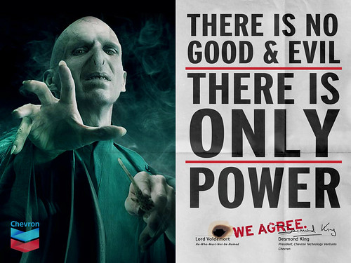 "Chevron & Voldemort ""We Agree"""