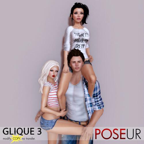 POSEUR - Glique 3