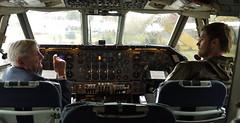 educator (estherase) Tags: emssimp findleastinteresting faved jon noj nojjohnson friend oldman old plane aeroplane airoplane window brooklands brooklandsmuseum museum weybridge friends