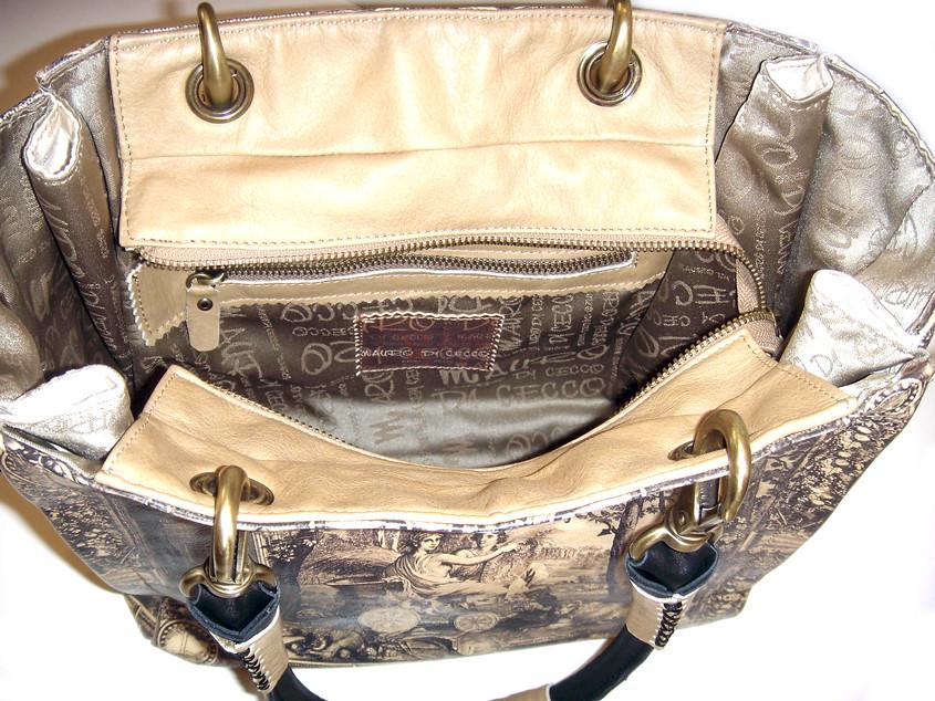 MISS GWYNETH G 912 Leather hand/shoulder bag