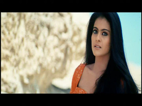 Sexy Indian Actress is Kajol : Beautiful Hair