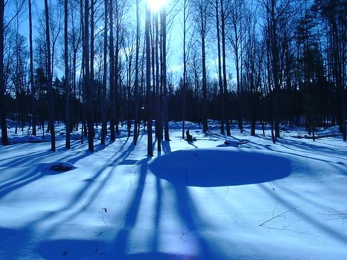nieve en Suecia
