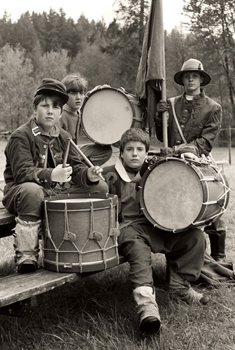 Civil War - Drummer Boys by SmilingMonk.