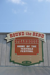 At Round the Bend Steakhouse