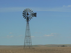 Windmill in Eastern Washington