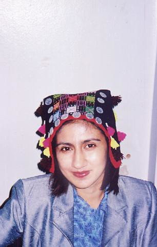 Sony with a Hmong headress