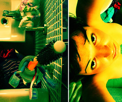 The Acid House (Francesca NoHead) Tags: sardegna portrait italy selfportrait detail macro art me topf25 beauty self topf50 diptych comic sardinia colours surrealism bodylanguage atmosphere dettagli emotions azzurro coolest ritratto 2b salledebain supershot purezza flickrsbest theacidhouse abigfave artlibre impressedbeauty aplusphoto diamondclassphotographer flickrdiamond hourofthediamondlight meatthetoilet