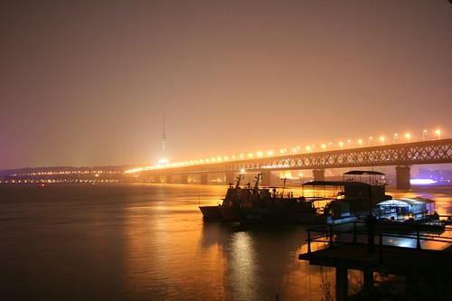 The first bridge over the Yangtzi, Wuhan