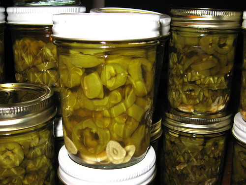 Pickled Jalapenos - Closeup