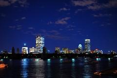 boston skyline - by dsevilla