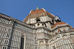 大教堂( 百花聖母院)的圓頂  Duomo (S.Maria del Fiore)