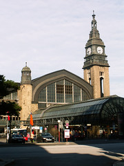Hamburg - Hauptbahnhof (jaime.silva) Tags: architecture germany deutschland arquitectura hamburg architektur architettura architektura august2007 konicaminoltaz3