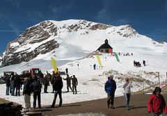 Soldiers In Mountain Training On The Zugspitze Glacier (bigtimbercreek) Tags: germany zugspitze